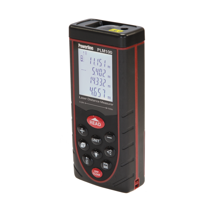 Powerline PLM100 100m Laser Distance Measurer