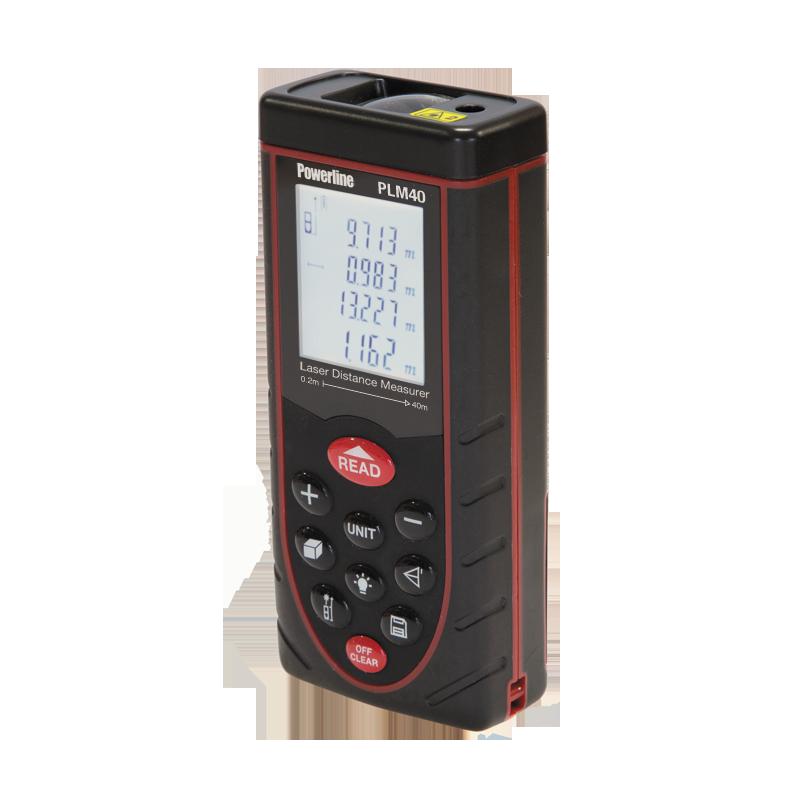 Powerline PLM40 40m Laser Distance Measurer